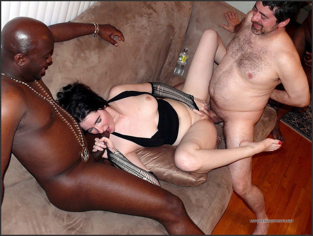 interracial Wife loves